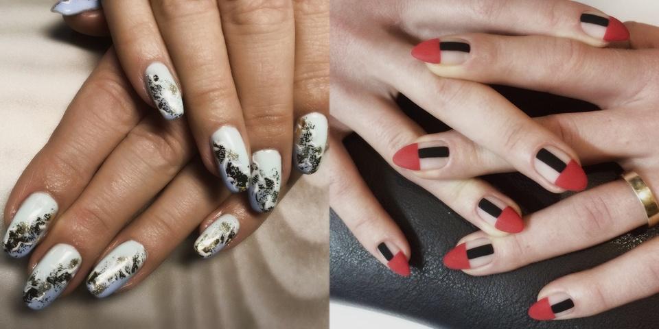 Рисунки разные на ногтях