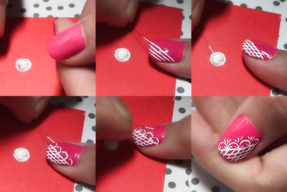 Красивый Дизайн Красных Ногтей Фото