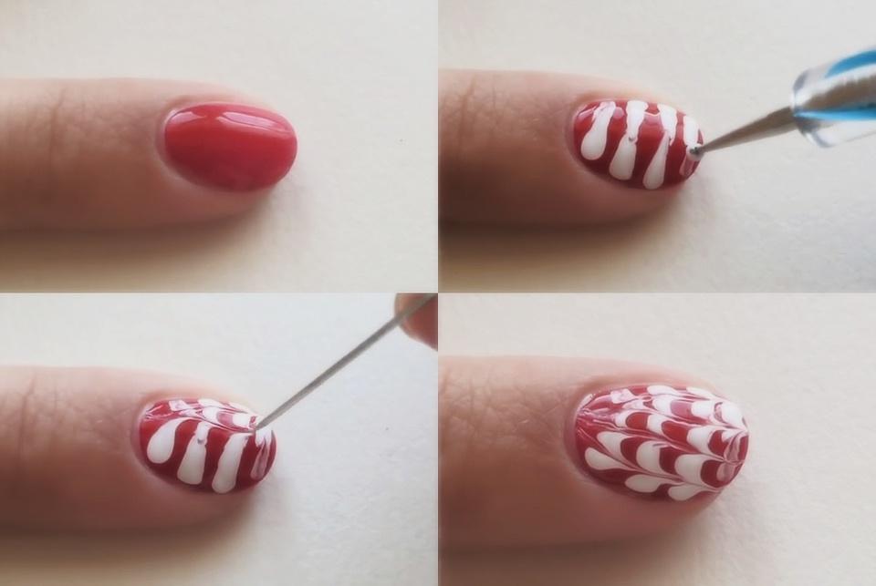 Рисунки на ногтях иголкой: схемы для начинающих - Мой секрет