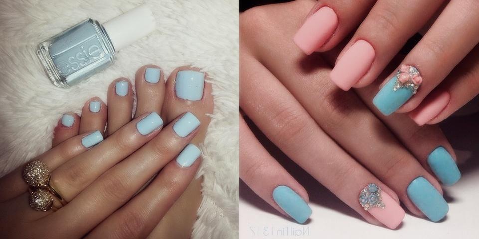 Маникюр и педикюр фото на короткие ногти